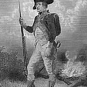 American Continental Soldier Art Print