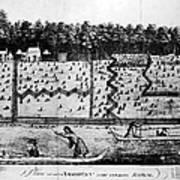 American Farm: Plan, 1793 Art Print