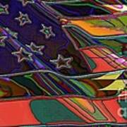American Flag 1 Art Print