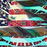 American Flag 2 Art Print