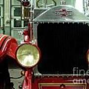 American Lafrance Fire Truck Art Print
