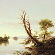 American Lake Scene Art Print