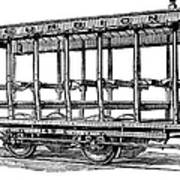 American: Streetcar, 1880s Art Print by Granger
