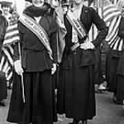 American Suffragists Art Print