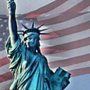 American Welcome Art Print