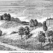 Amherst College, 1821 Art Print