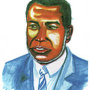 Amilcar Cabral Lopes Art Print