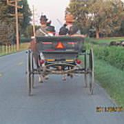 Amish Convertible Art Print