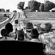 Amish Family Outing Art Print
