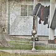 Amish Pump And Cup Art Print