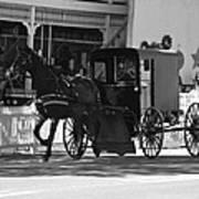 Amish Transportation Art Print