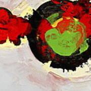 Amorphous Movement Of Wa-ja-rata Mural Study 111347-61649 Art Print
