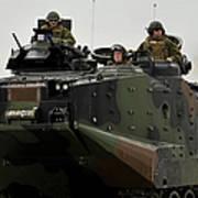 Amphibious Assault Vehicles Make Art Print