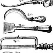 Amputation Instruments, 1772 Art Print