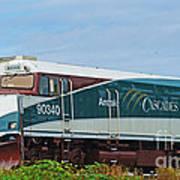 Amtraks Cascade Engine Art Print