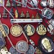 Amulets For Sale Art Print