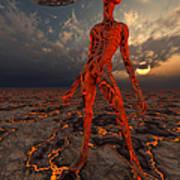An Alien World Where Its Native Art Print