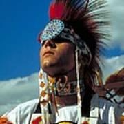 An American Indian No1 Art Print