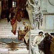 An Audience At Agrippa's Art Print