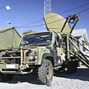 An Australian Defense Force Satellite Art Print