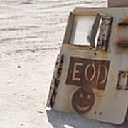 An Explosive Ordnance Disposal Logo Art Print