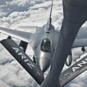 An F-16 From Colorado Air National Art Print
