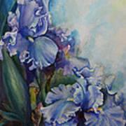An Iris For My Love Art Print