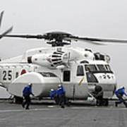 An Mh-53e Super Stallion Helicopter Art Print by Stocktrek Images