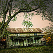 An Old Home Place Art Print