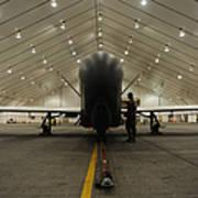 An Rq-4 Global Hawk Unmanned Aerial Art Print