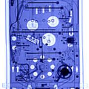An X-ray Of A Pinball Machine Art Print