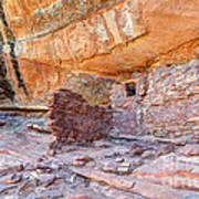 Anasazi Indian Ruin - Cedar Mesa Art Print