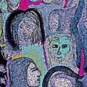 Ancestral Cave Art Print