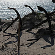 Anchor Beach 15 Art Print