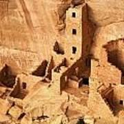 Ancient Anasazi Indian Cliff Dwellings Art Print