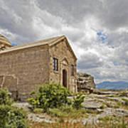 Ancient Church On Hills Of Anatolia Art Print