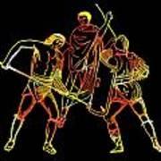 Ancient Roman Gladiators Art Print