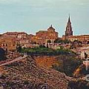 Ancient Spanish City Art Print