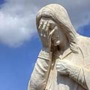 And Jesus Wept IIi Art Print
