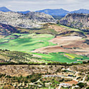 Andalucia Countryside Art Print