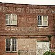 Andalusia Grocery Co Art Print