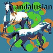 Andalusian Art Print