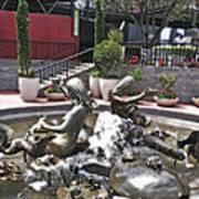 Andrea's Fountain At Ghirardelli Square Art Print