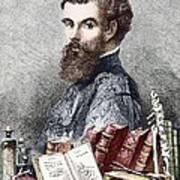 Andreas Vesalius, Belgian Anatomist Art Print