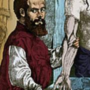 Andreas Vesalius, Flemish Anatomist Art Print
