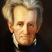 Andrew Jackson, 7th American President Art Print
