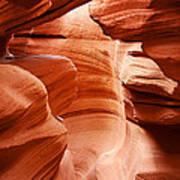 Anelope Canyon - What A Wonderful World Art Print
