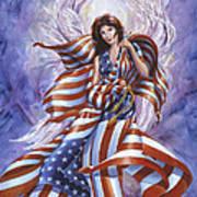 Angel America Art Print