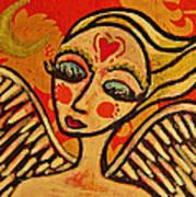 Angel Dreaming Art Print
