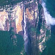 Angel Falls In Venezuela Art Print